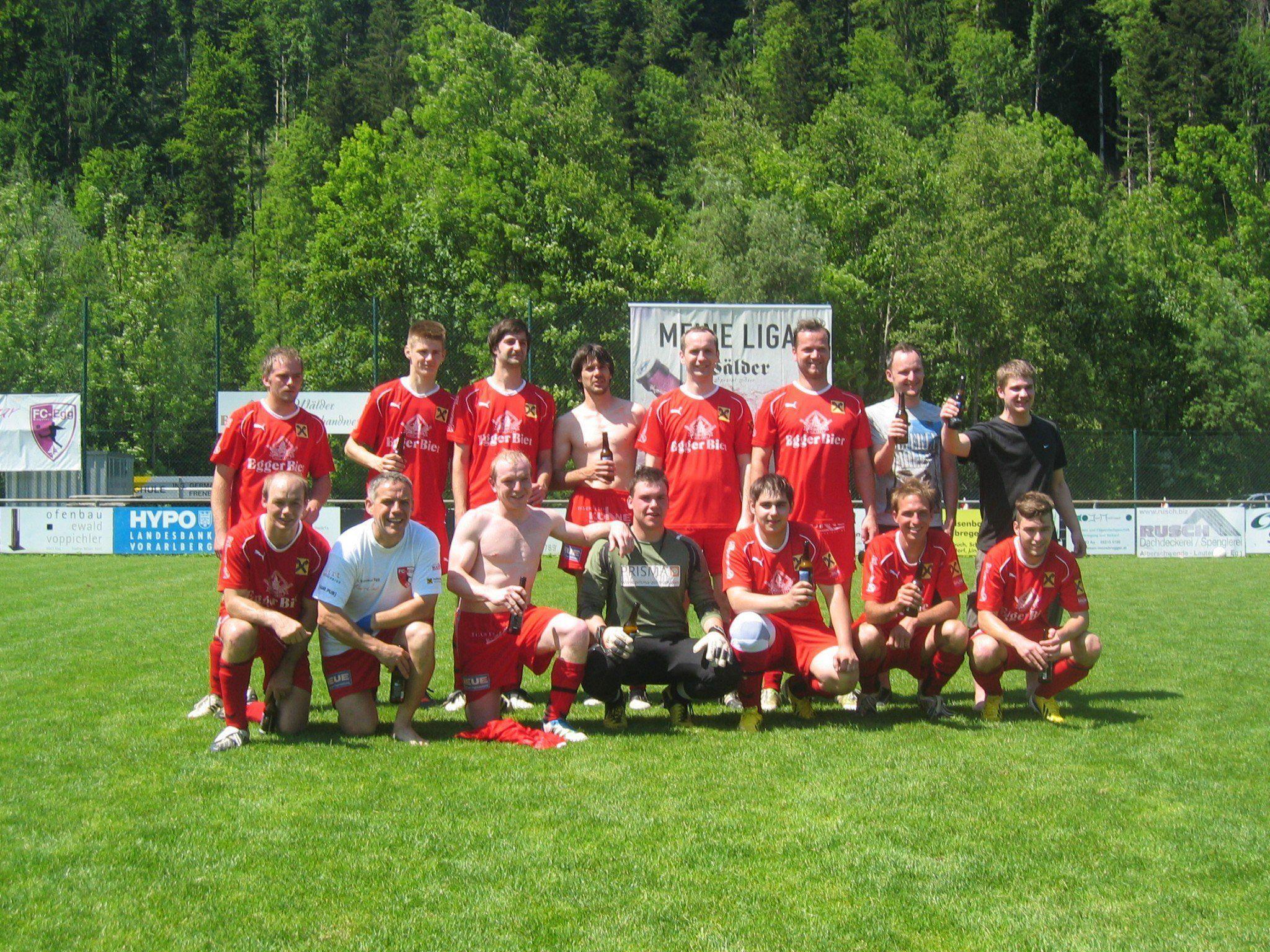 Der FC Egg sicherste sich den Meistertitel bei den Reserven