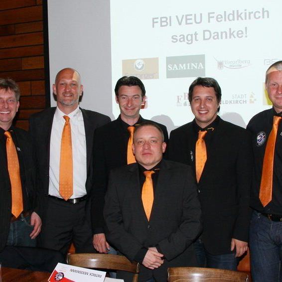 Der Vorstand der VEU Feldkirch freut sich auf viele Fans, die eine Saisonkarte erwerben.