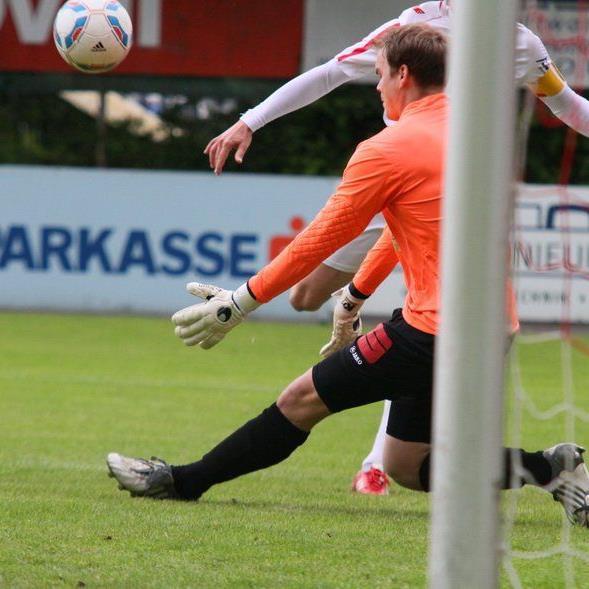 Nenzing-Tormann Thomas Kober musste drei Gegentore einstecken.