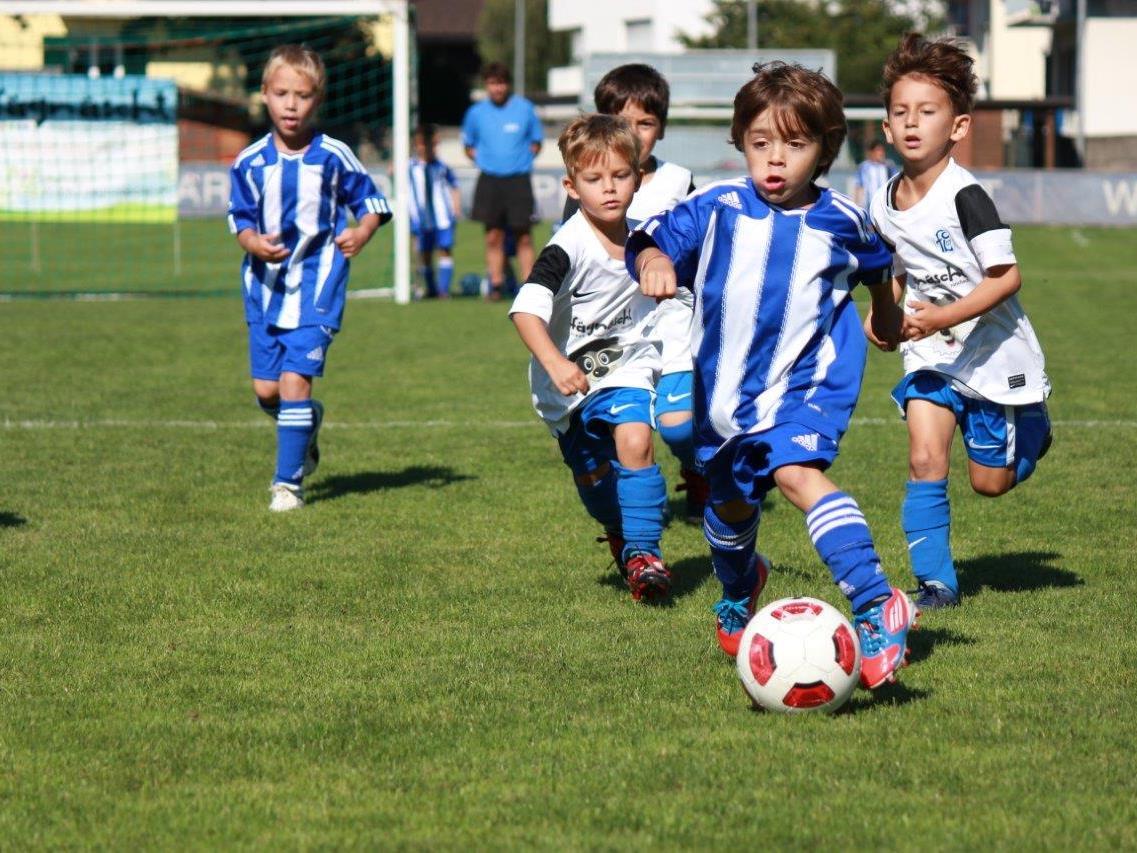 Die Unter-7-Jährigen kicken am Sonntag im Bresner Römerstadion.