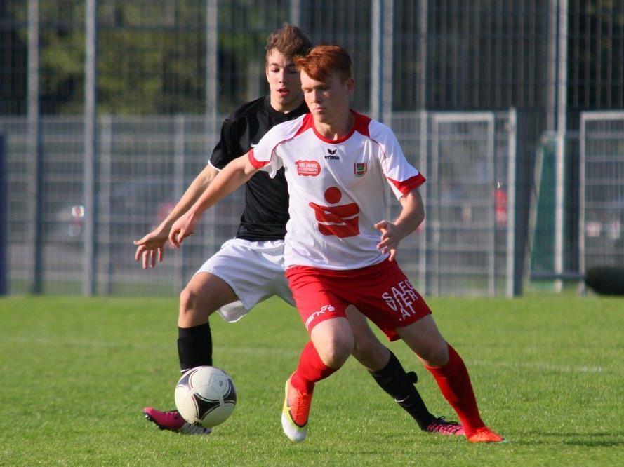 Dornbirn-U-17-Spieler Philipp Stoss will mit seinen Kollegen den Landesmeistertitel holen