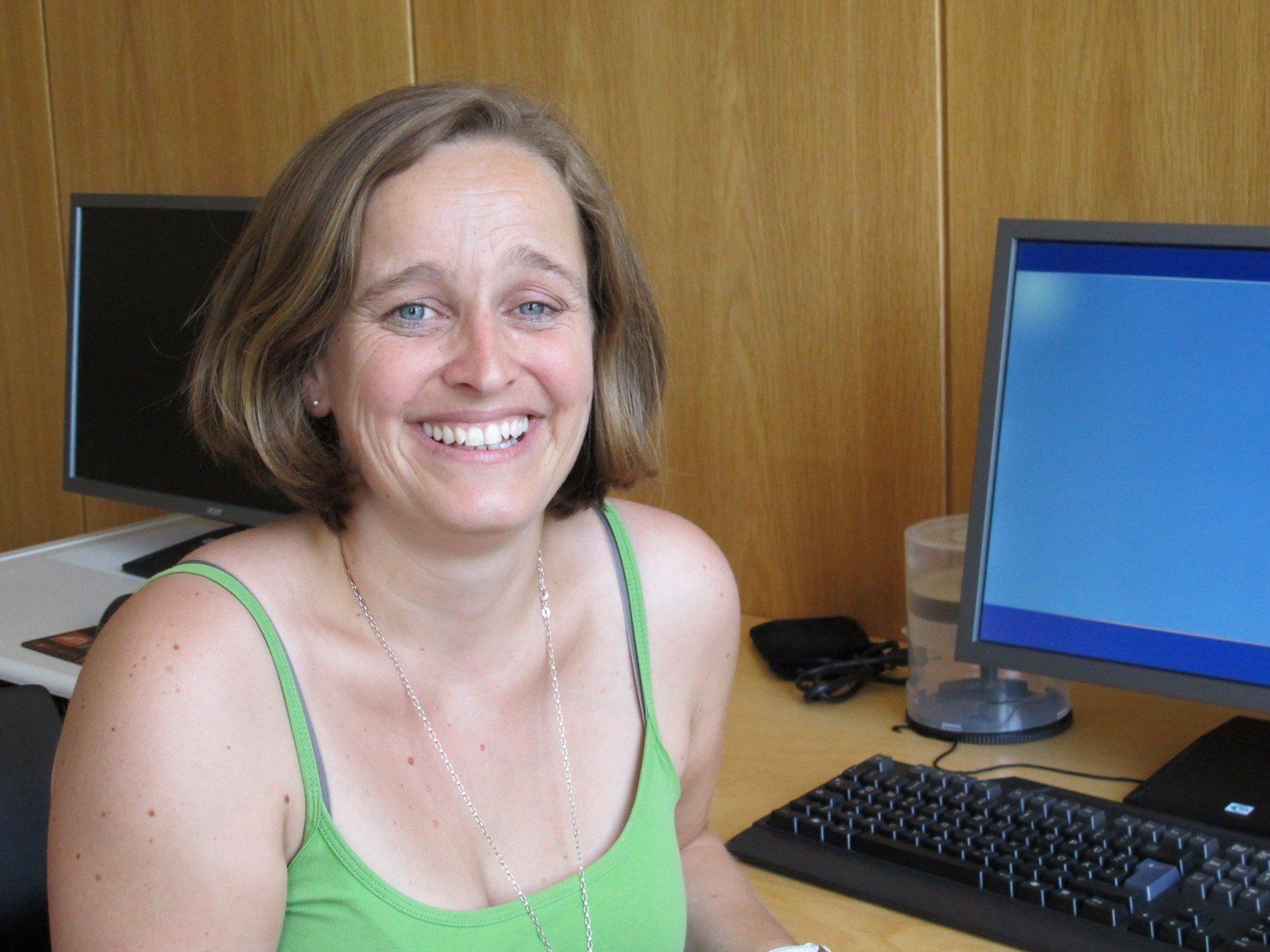 Verena Fitsch freute sich über den sehr gut besuchten Vortrag.