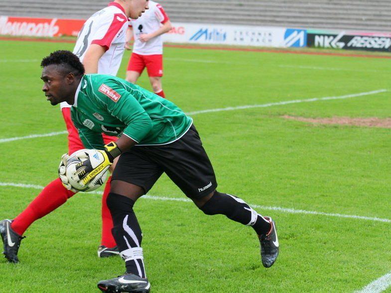 Dornbirn-Goalie Joshua Ndybisi wechselt zum Landesligaklub Schwarzach.