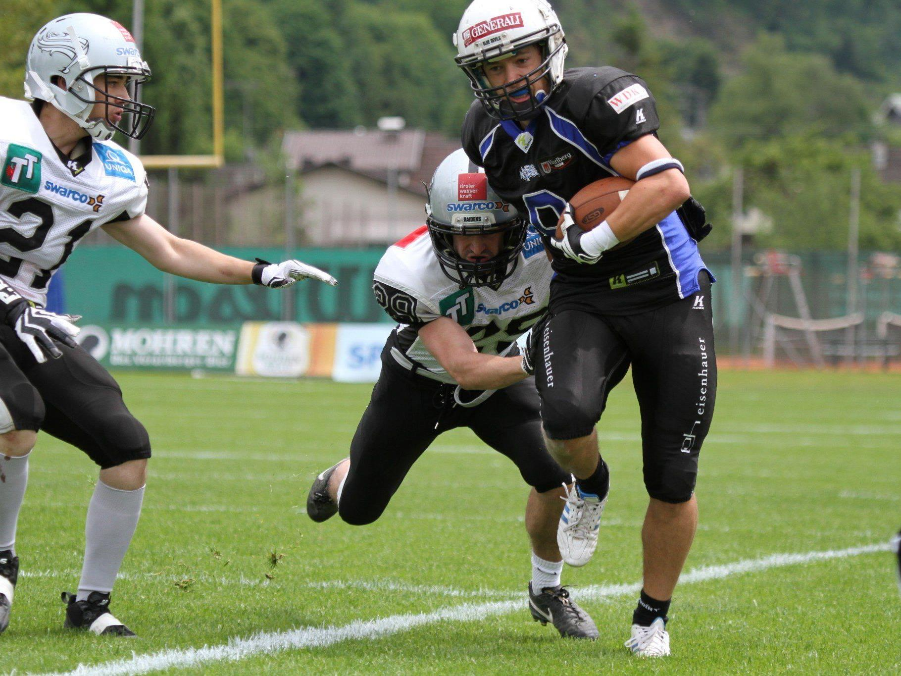 Blue Devils mit Schützenfest im Heimspiel gegen Tirol.