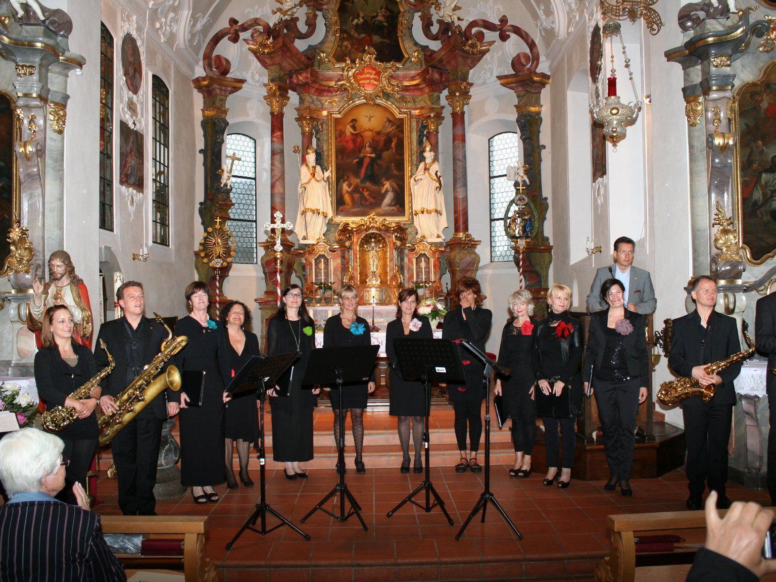 Laguzzen und Saxos begeisterten mit grandiosem Konzert