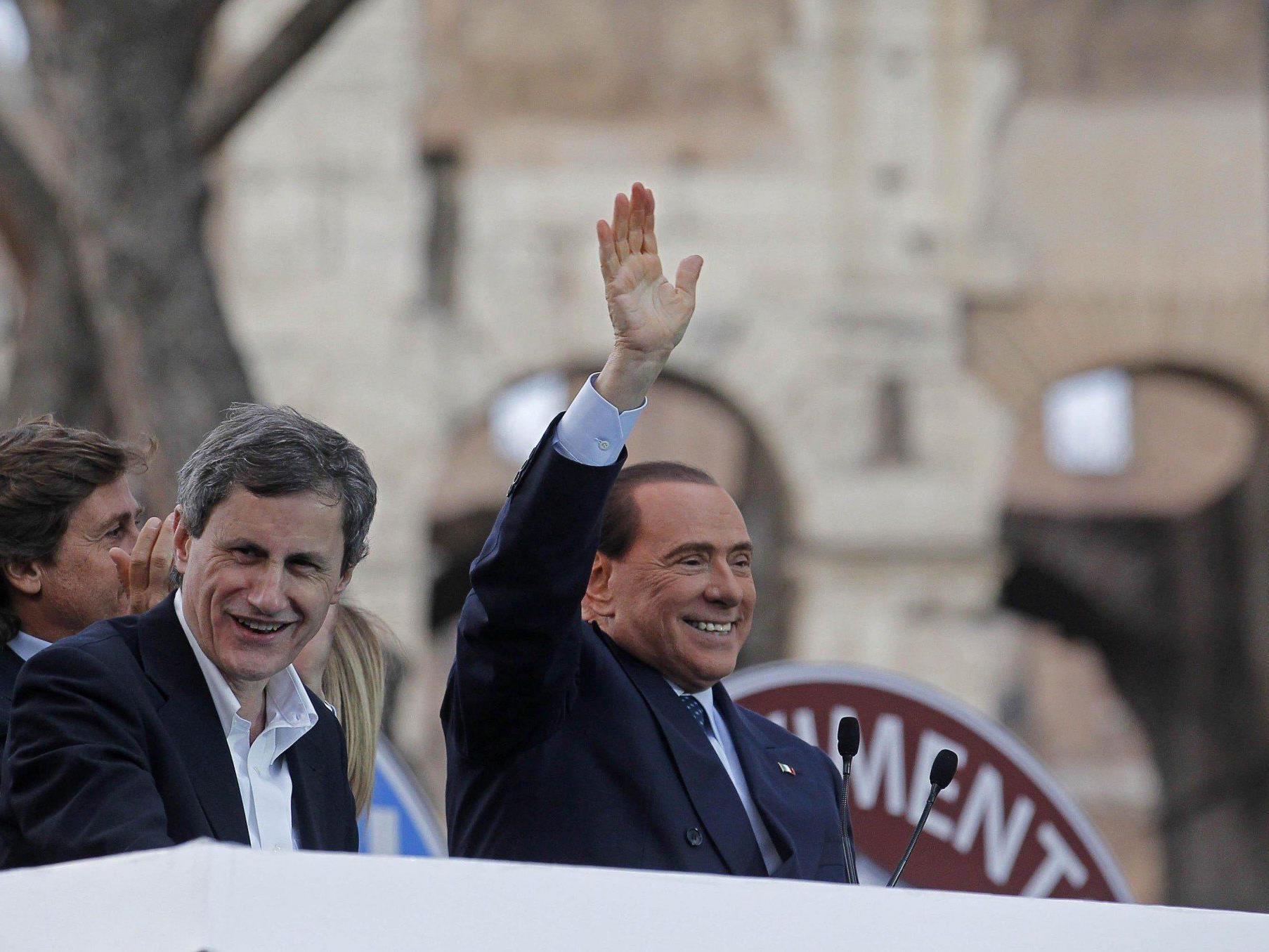 Silvio Berlusconi sorgt seit Jahren für Diskussionsstoff in Italien.