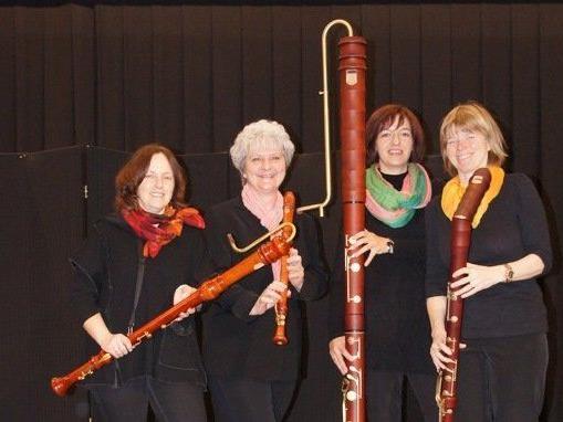 """Einzigartiges Konzert mit """"Blockflöten-Arrangements"""" im Kunstkeller Lochau."""