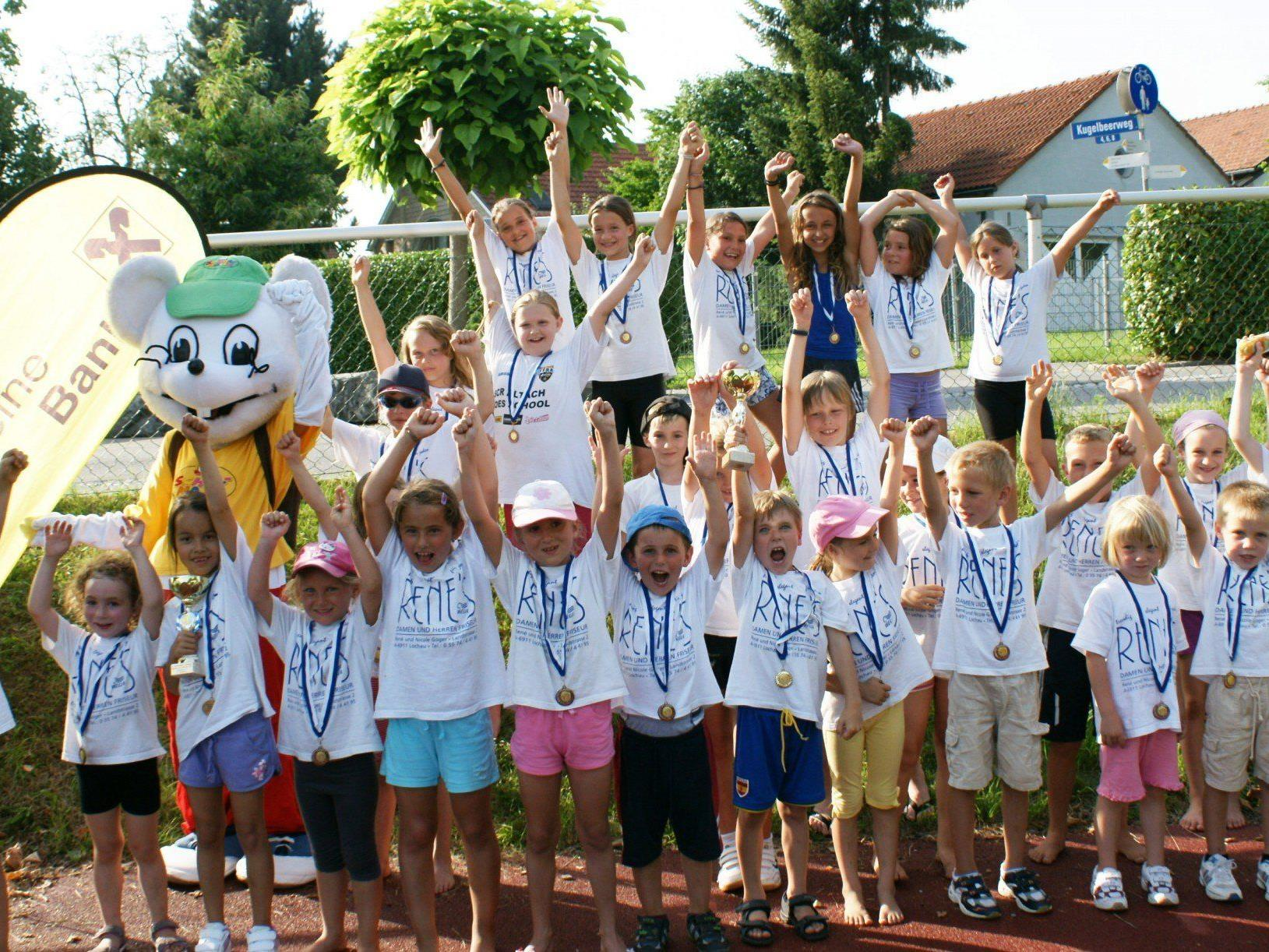 Auch in diesem Jahr freut sich natürlich der Lochauer Leichtathletik-Nachwuchs ganz besonders auf sein Heim-Meeting.