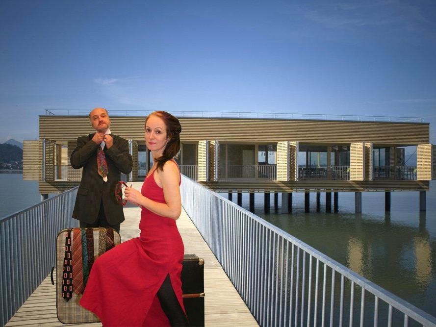 """Das Seehotel Am Kaiserstrand lädt mit """"Montevideo"""" zum sommerlichen Theater-Event auf dem Bodensee."""