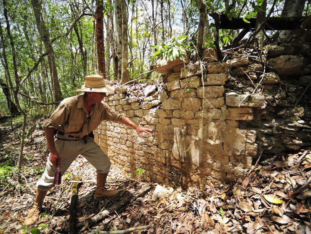 Antike Stätte lag im Wald versteckt.