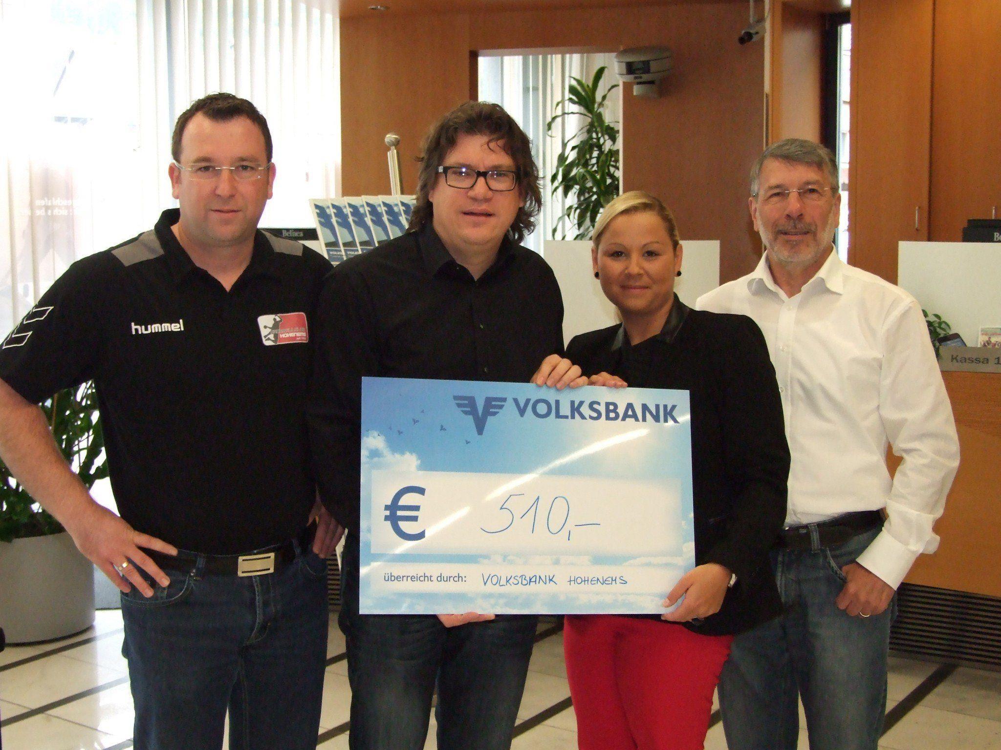 Schlossberg-Läufer spendeten für Alt Ems.