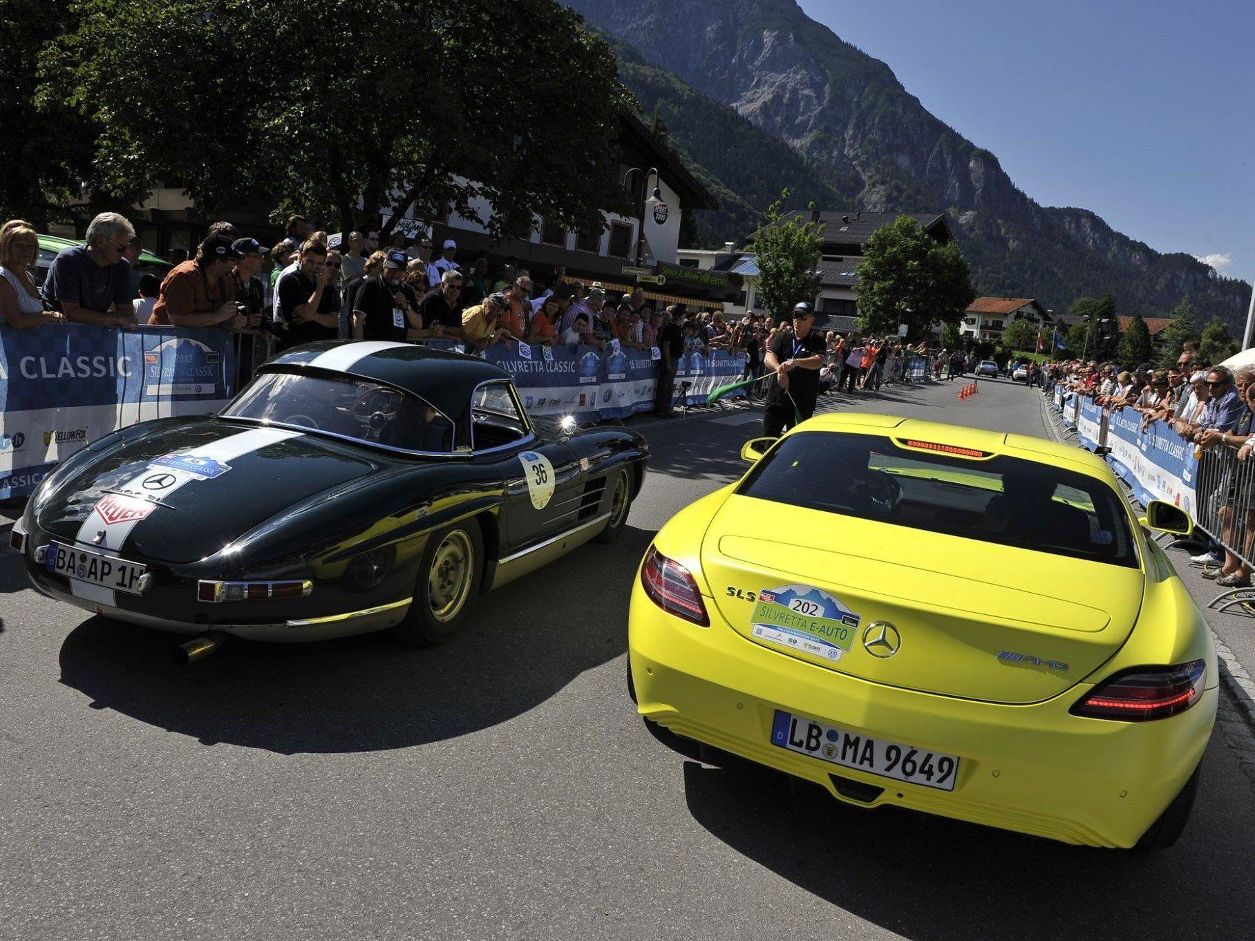 Am 4. Juli starten die 16. Silvretta Classic und 4. Silvretta E-Auto Rallye Montafon.