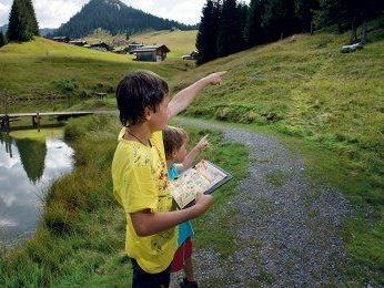 Familienprogramm 2013: Montafon zeigt sich als größter Abenteuerspielplatz der Alpen.