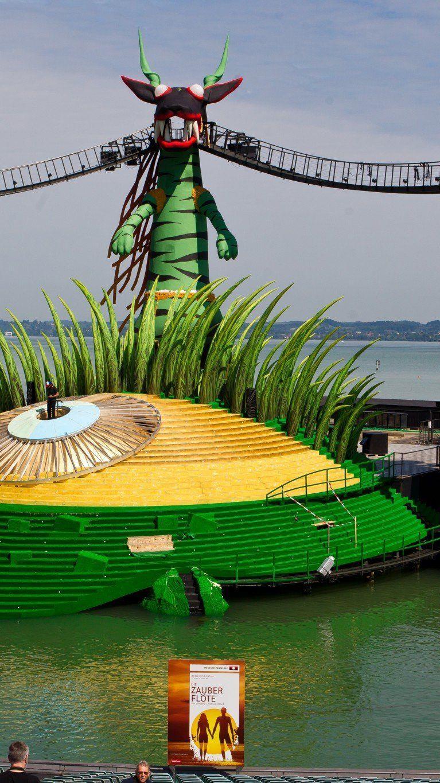 Am 12. Juni starteten die Proben für die Festspiele 2013 auf der Seebühne in Bregenz.