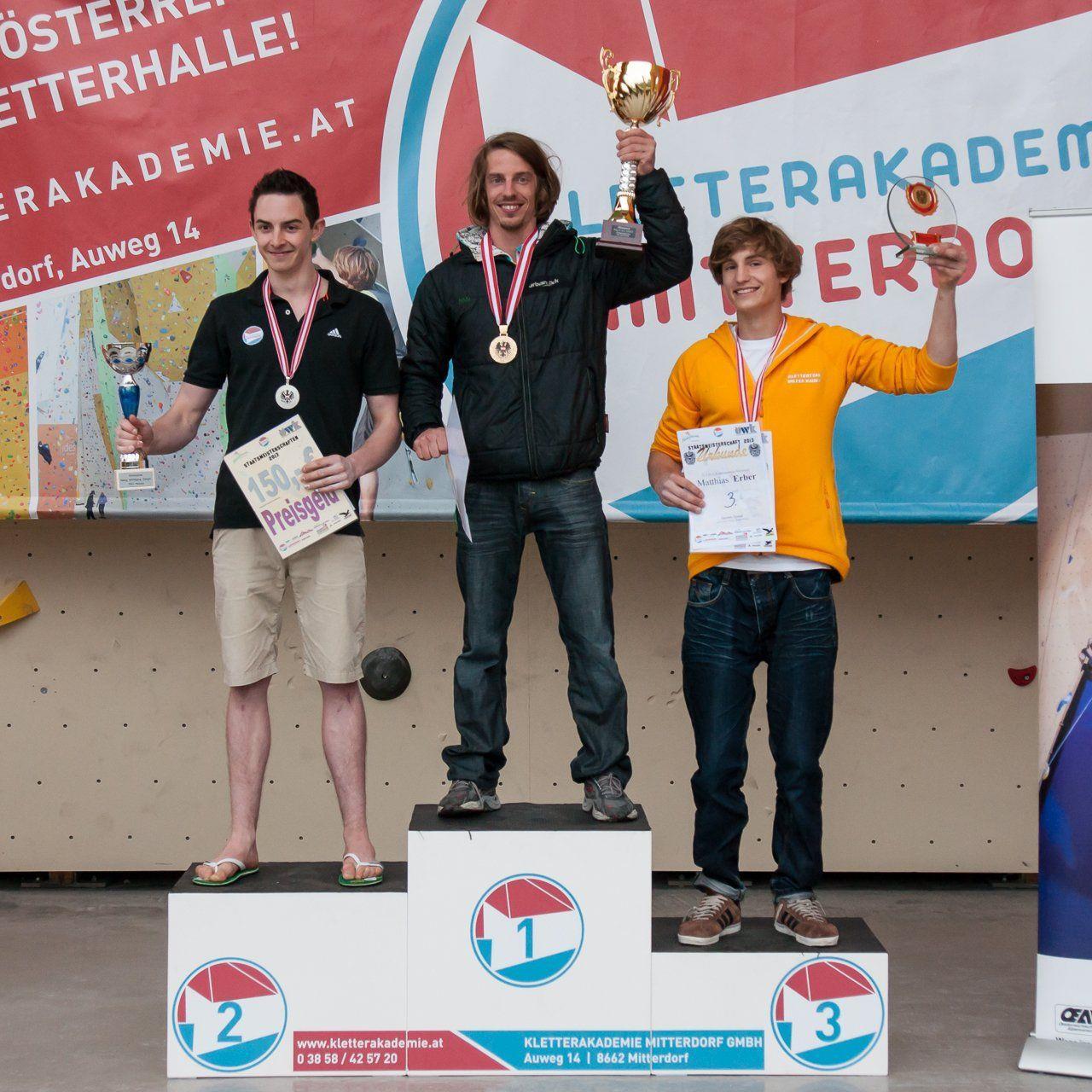 Gold für den Hohenemser Mark Amann, der Dornbirner Lukas Köb wurde Vizestaatsmeister.
