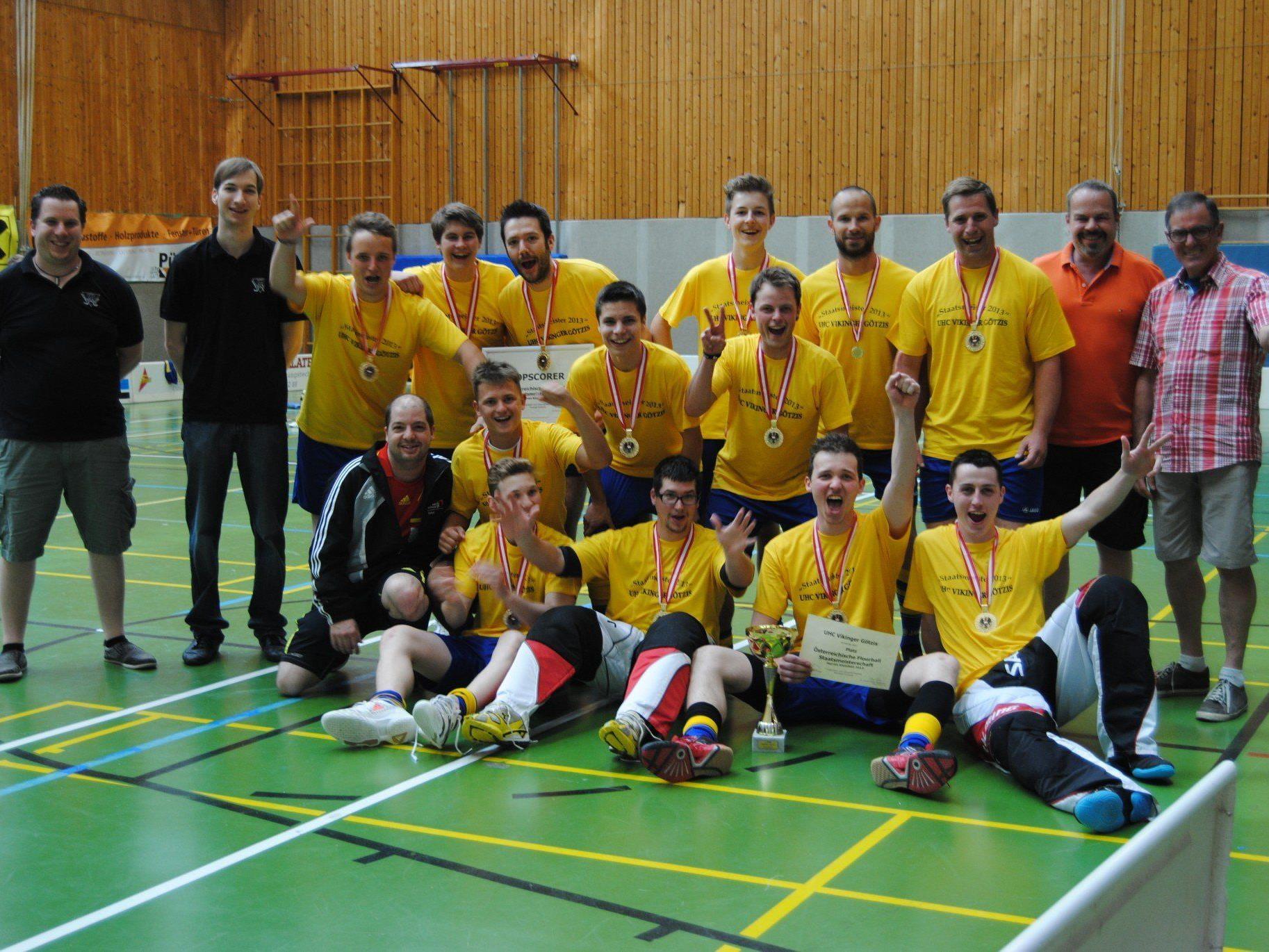 Der UHC Vikinger Götzis wiederholte seinen ÖM-Staatsmeistertitel aus dem Vorjahr.