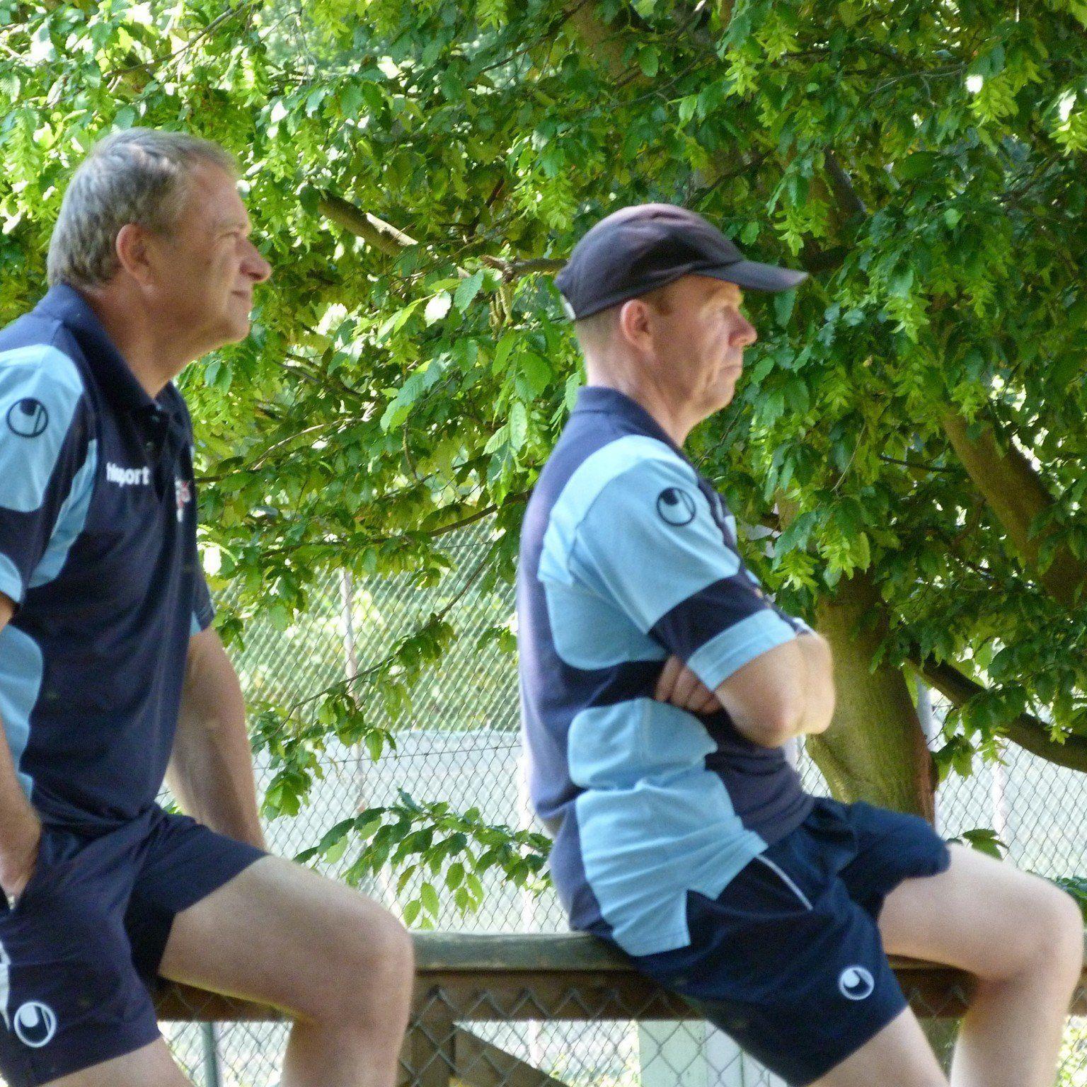 Das Trainerduo Teddy Pawlowski und Ingo Sonnweber durfte mit den Leistungen mehr als zufrieden sein.