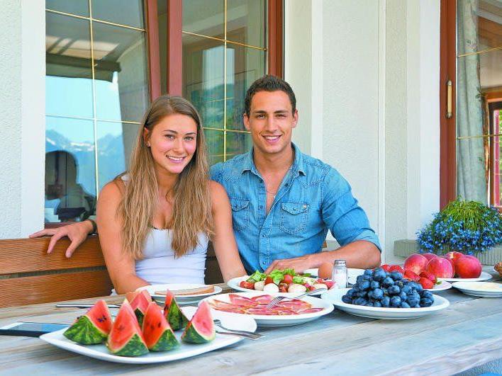 Die beiden Ausnahmesportler Georg Margreitter und Rosalie Tschann sind seit März ein Paar.