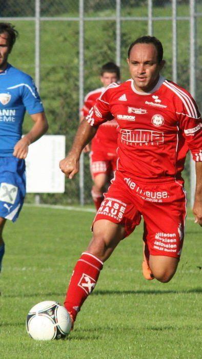 Andelsbuch-Torjäger Reinaldo Ribeiro will mit seiner Mannschaft den Pott holen.