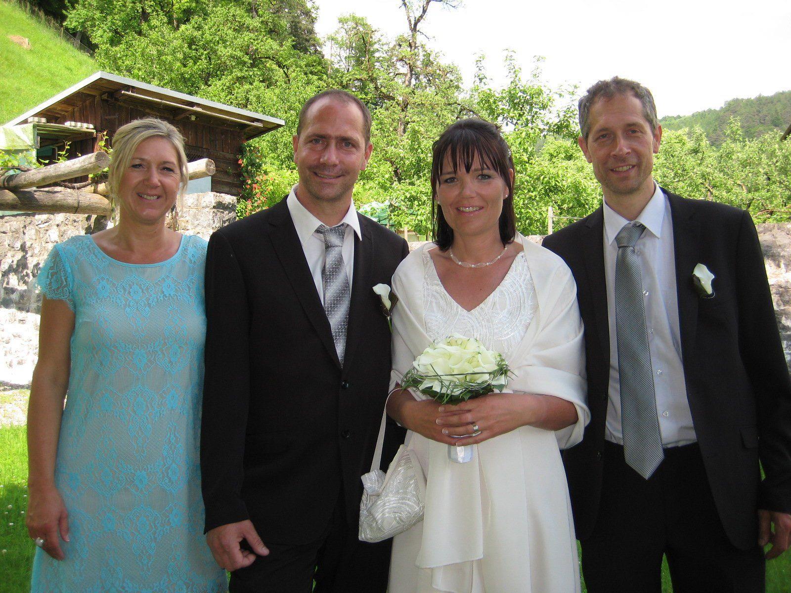 Michaela Lang und Johann Gröfler haben geheiratet.