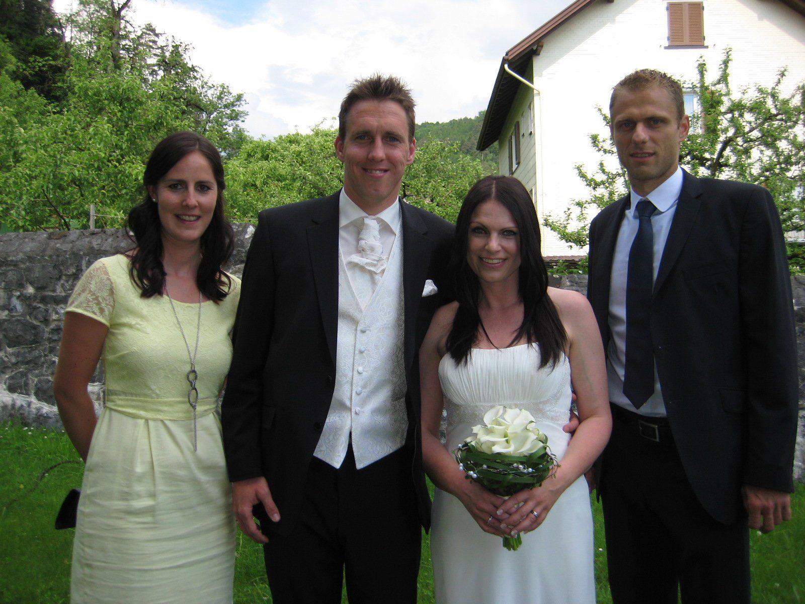 Petra Minoretti und Christoph Stückler haben geheiratet.