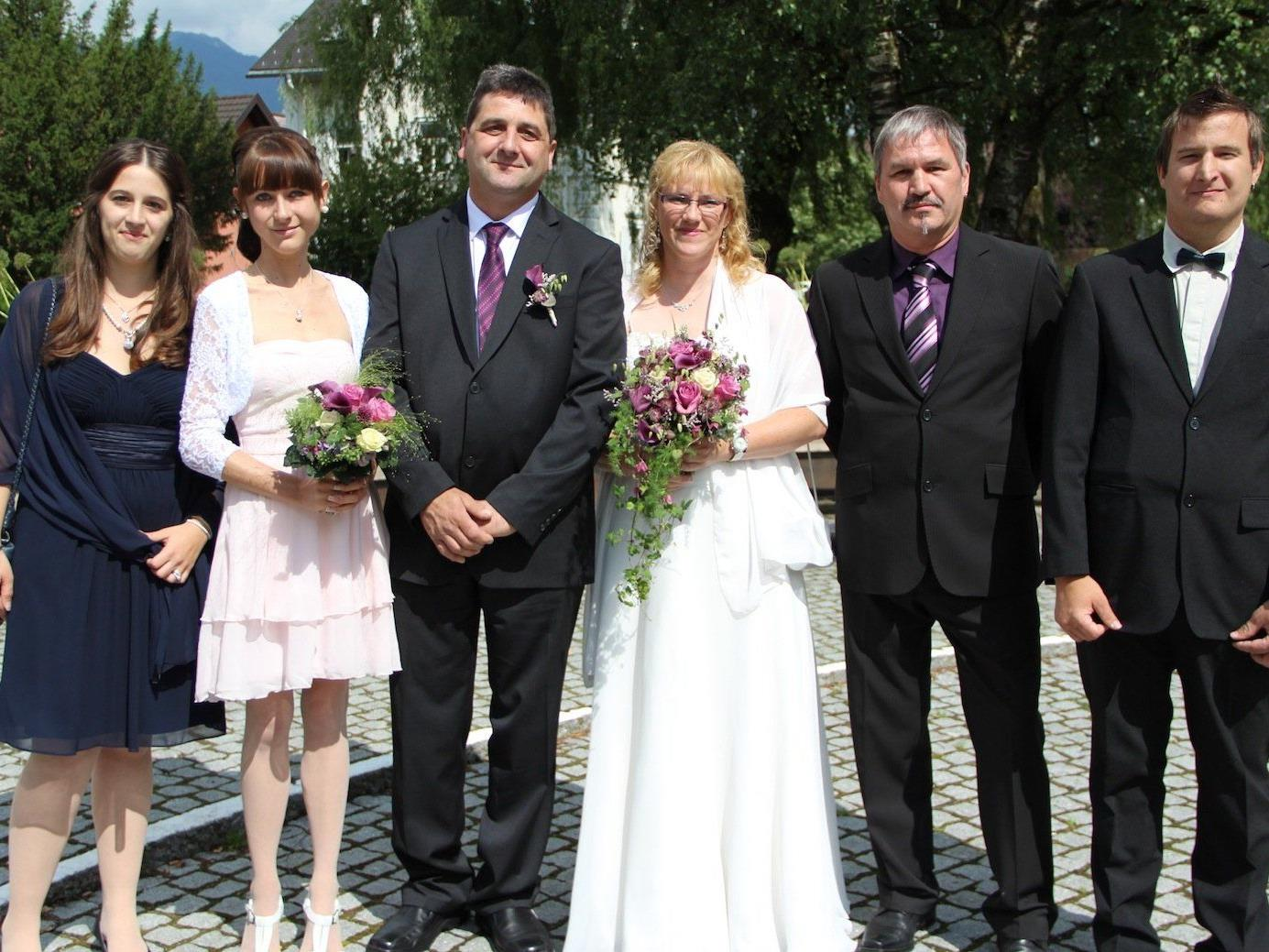 Andrea Wehinger und Egon Gabriel