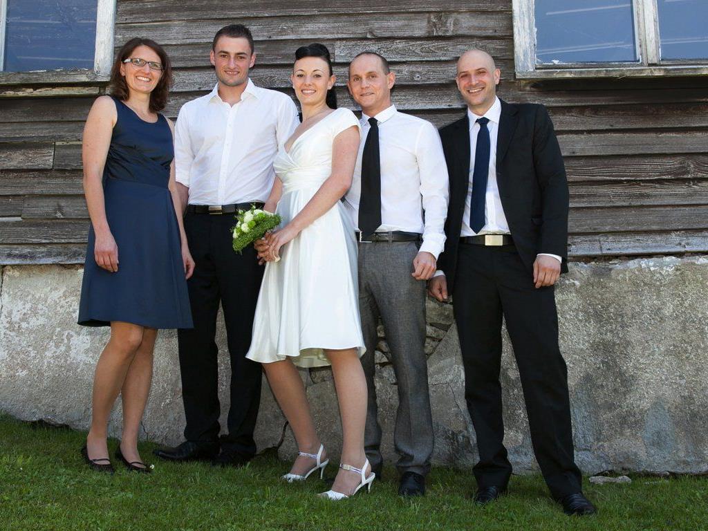 Raphaela Boch und Joseph Müller haben geheiratet.