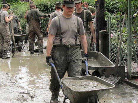 3.726 waren insgesamt im Hochwassereinsatz.