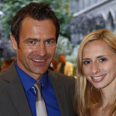 Stefan Gehrer und Preisträgerin Caroline Weber
