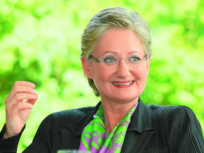 Bildungsministerin Schmied im VN-Interview