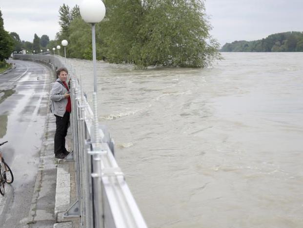 Der Hochwasser-Höhepunkt der Donau scheint bereits erreicht.