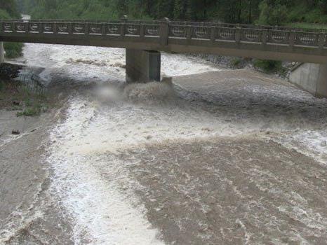 Noch immer ist die Hochwasserlage in NÖ gespannt.