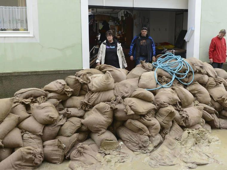Hilfe für die Opfer der Hochwasser-Katastrophe.