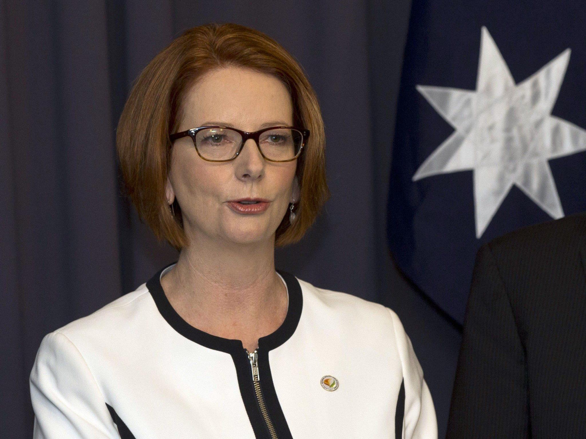 """Gillard empört über """"Wachtel mit kleinen Brüsten und fetten Schenkeln"""""""