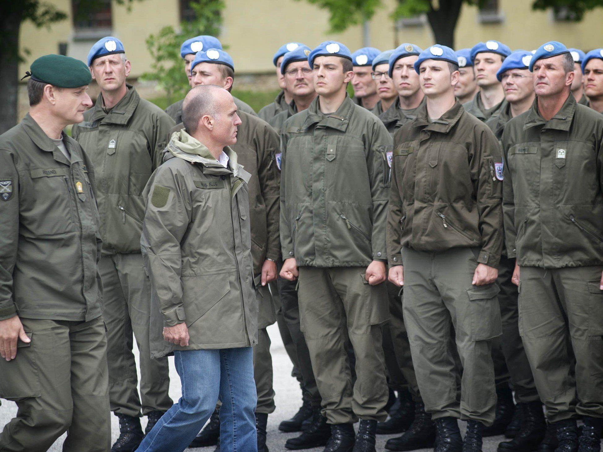 Abzug von Österreichs Soldaten vom Golan dürfte beschlossene Sache sein.