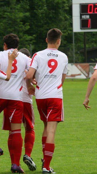 Zwei Tore schoss Rankweil gegen Dornbirn, aber letztendlich zuwenig um zu gewinnen.