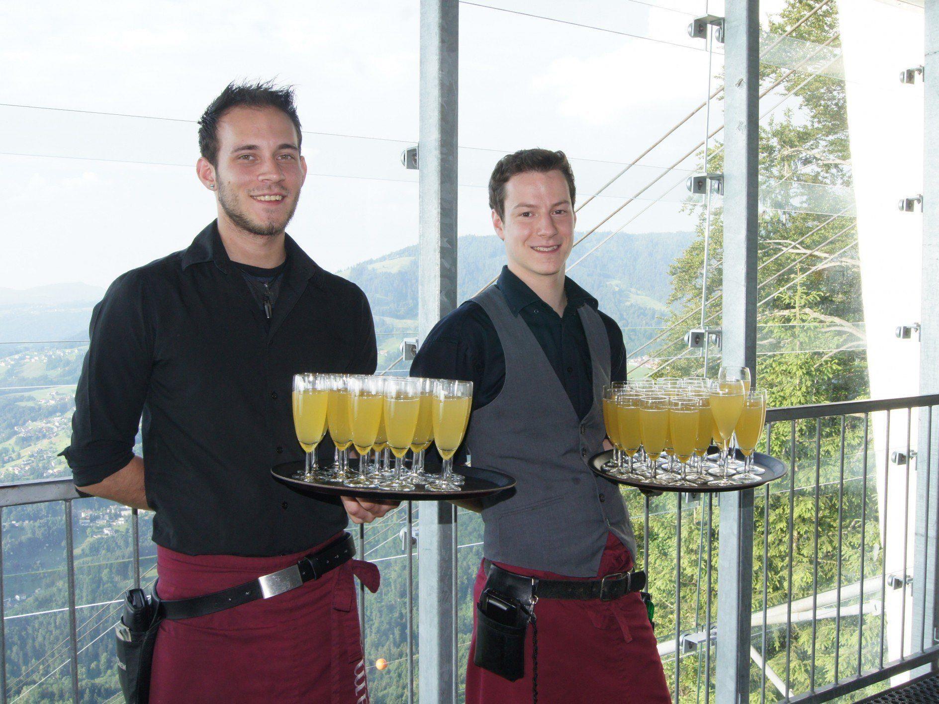 Die Karren-Crew erwartete die Gäste am 28. Juni zur offiziellen Eröffnung.