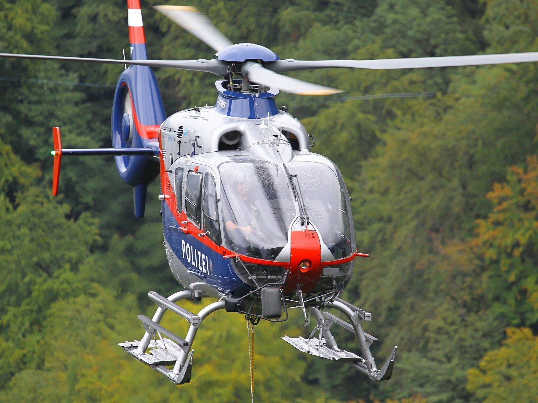 Rettung aus alpiner Notlage in Klösterle.