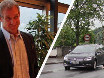 Bürgermeister Markus Linhart präsentierte die ersten Ideen zur Verkehrsberuhigung in Bregenz.