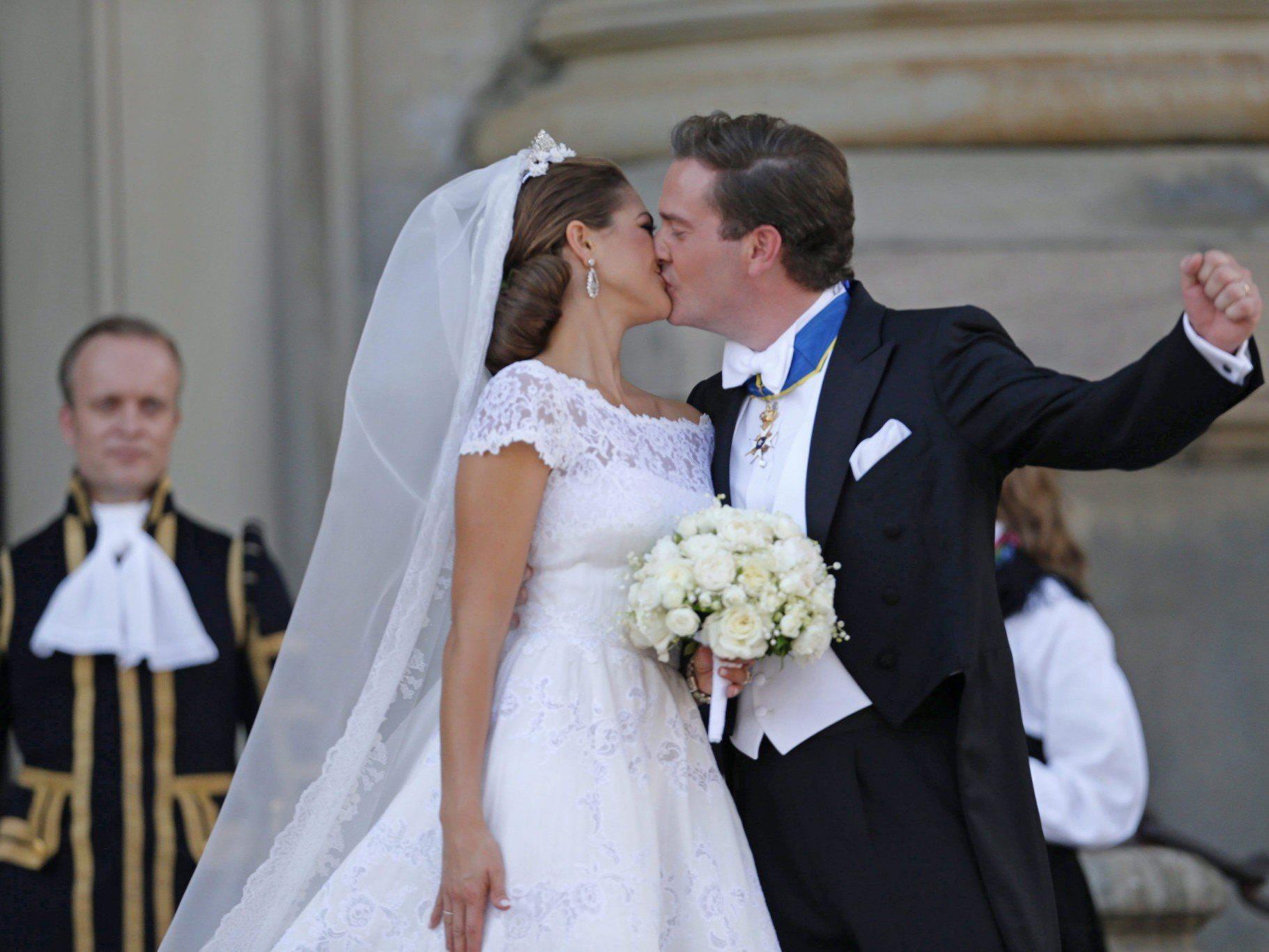 Der Moment, auf den es bei königlichen Hochzeiten offenbar ankommt.