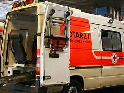 Der Lenker fuhr nach dem Unfall in Baden einfach weiter.