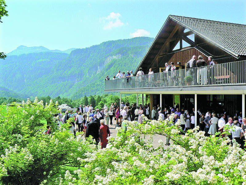 Bis zu 30.000 Musikfreunde kommen zur Schubertiade in den Bregenzerwälder Ort Schwarzenberg. In einigen Jahren waren es auch mehr. Bei kürzerem Programm werden es ab 2014 weniger sein.