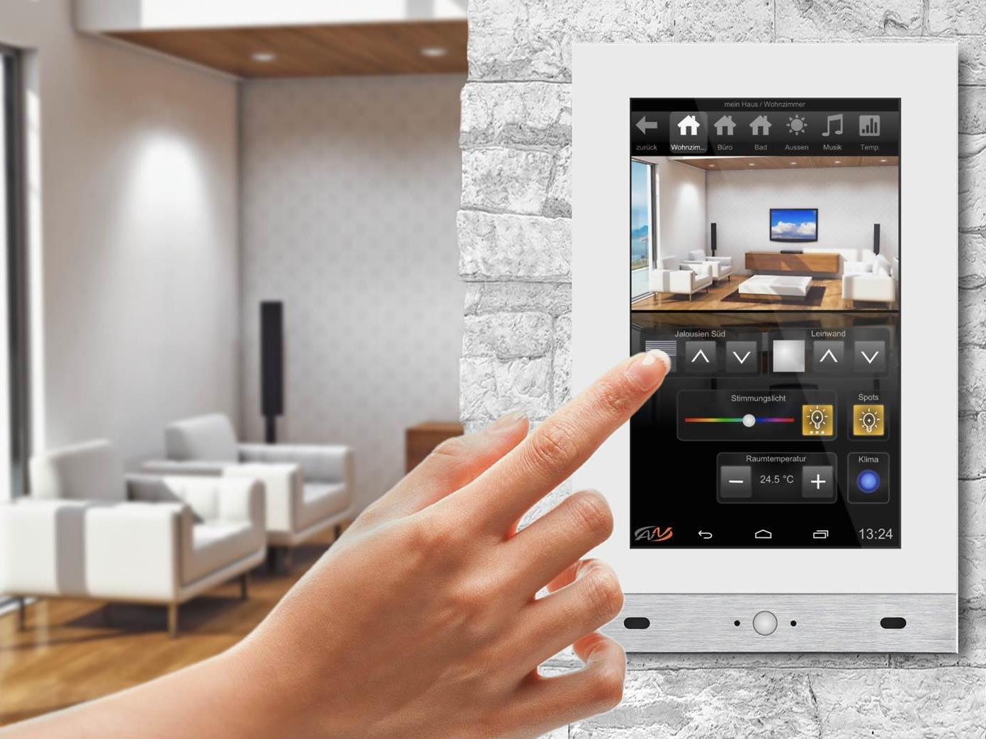 Smart Home: Stromverbraucher je nach Bedarf steuern - auch von unterwegs.