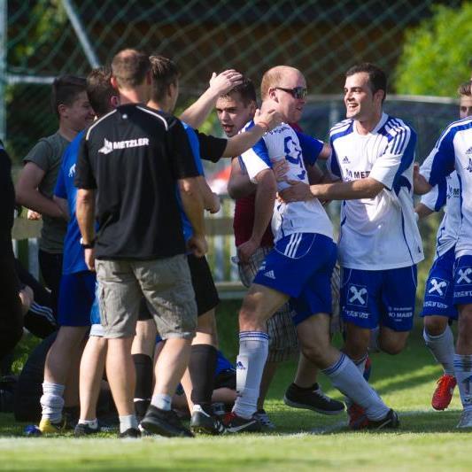Der SK Brederis schafft den Aufstieg in die Landesliga, der Jubel kannte keine Grenzen.