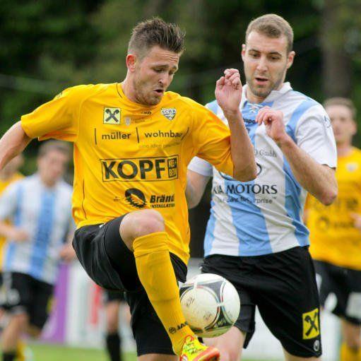 Altach Amateure-Stürmer Fabian Flatz will im Abschiedsspiel nochmals ins Schwarze treffen.