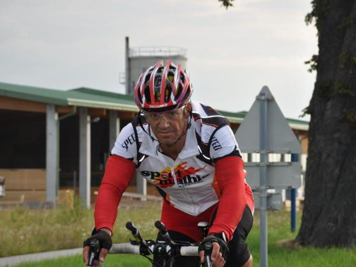 Der Extrem-Radsportler Hans Eisenbraun will das Race Across America und Race Across Austria gewinnen.