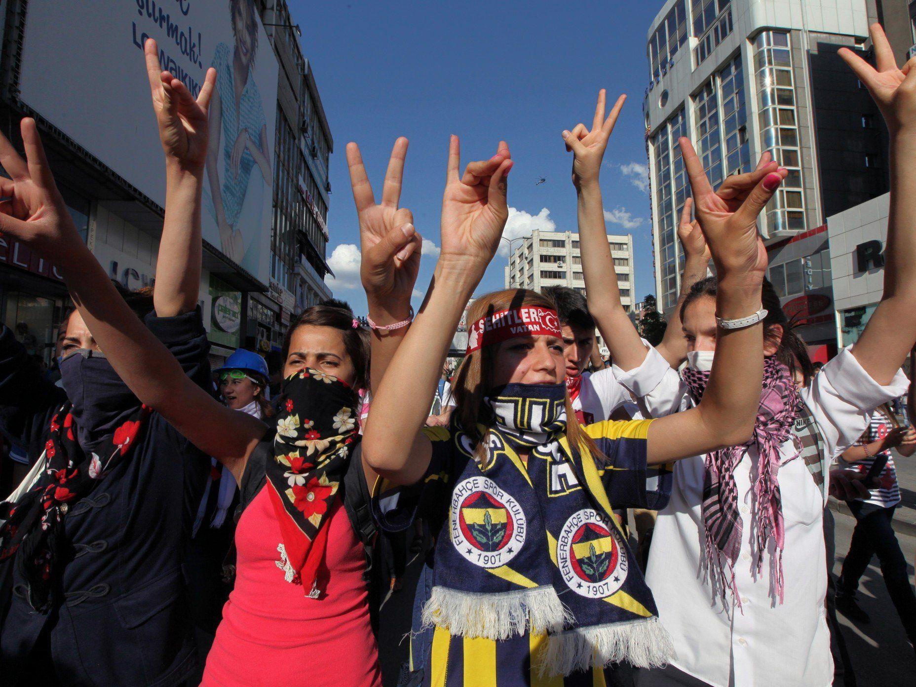 Die Repression in der Türkei richtet sich vor allem gegen Umweltschützer und Intellektuelle, die nicht die Regierungslinie vertreten.