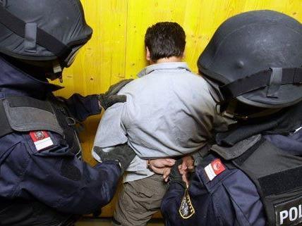 Auch die WEGA war an den Festnahmen beteiligt.
