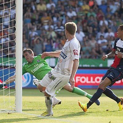 Angreifer Robert Beric erzielte das 1:0