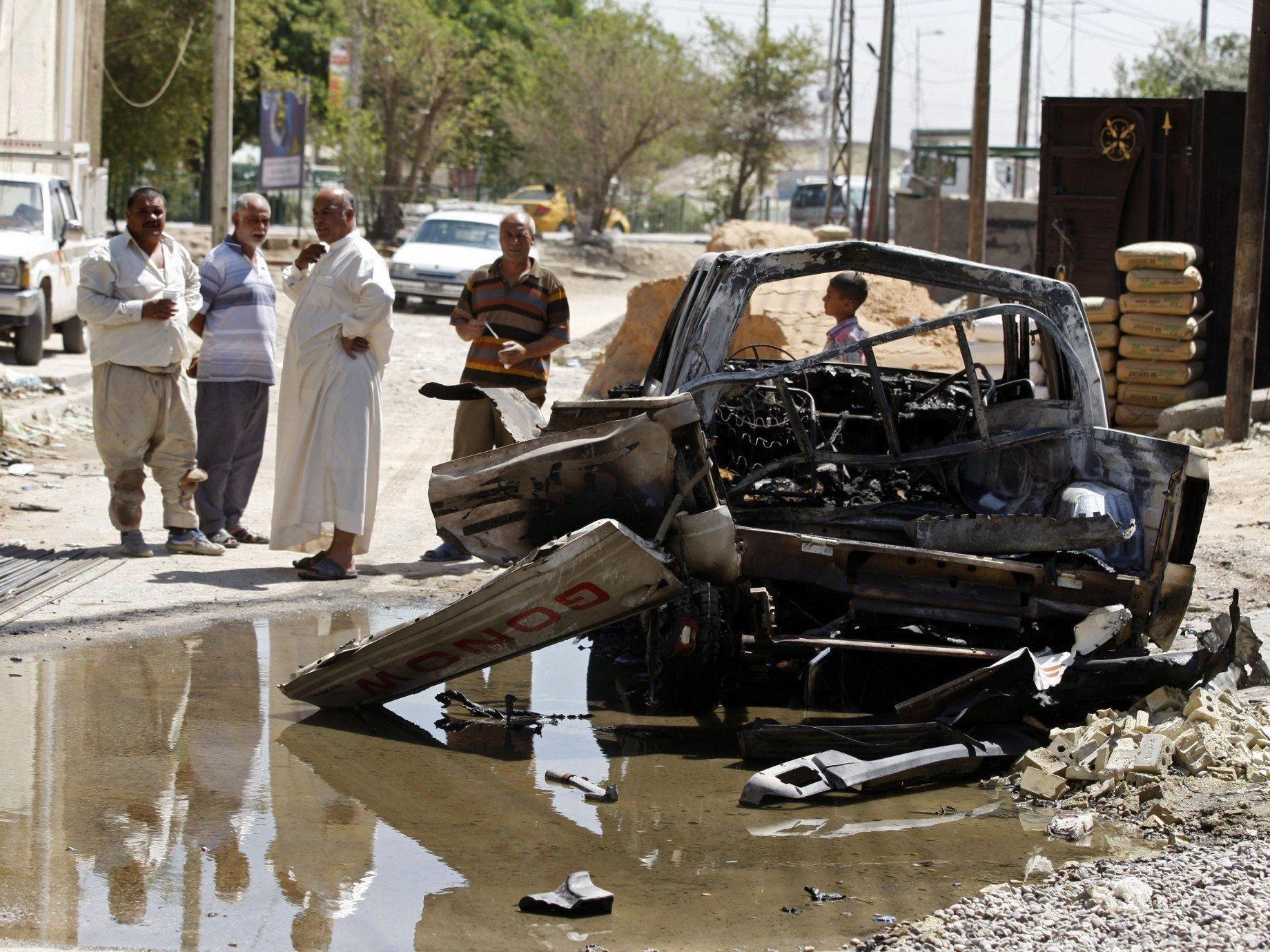 In den letzten Wochen kam es vermehrt zu Bombenanschlägen im Irak.